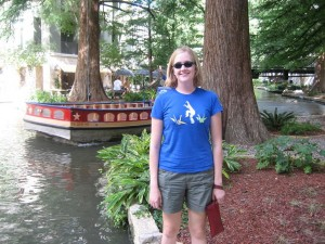 On the Riverwalk in San Antonio