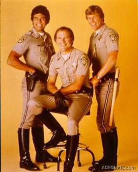 And finally, you may recall Ponch from the television classic CHiPs in the late 70's-early 80's, yes...?