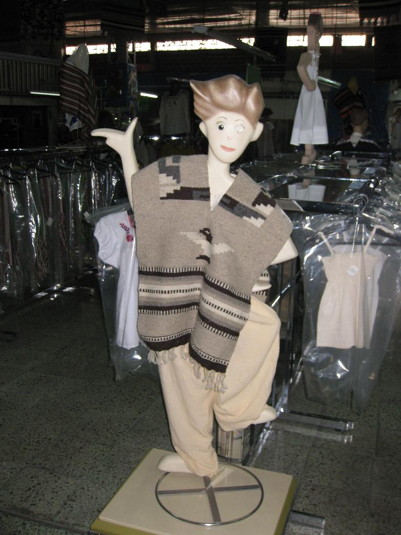 "I anticipate this mannequin being featured on the Mexican spinoff of ""What Not to Wear: Your Kids"""