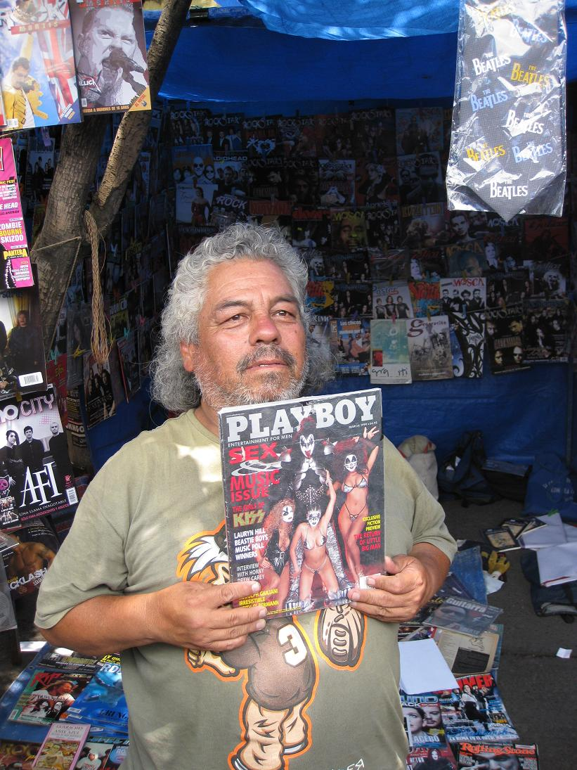 You can even find heavy metal vintage Playboy mags...