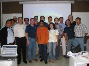 A workshop I coordinated in Mexico City, taught by our star trainer extraordinaire, Ken Schachter.