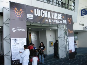The grand entrance to...THE EXPERIENCE!!!  yeeeee-haaawwwwww