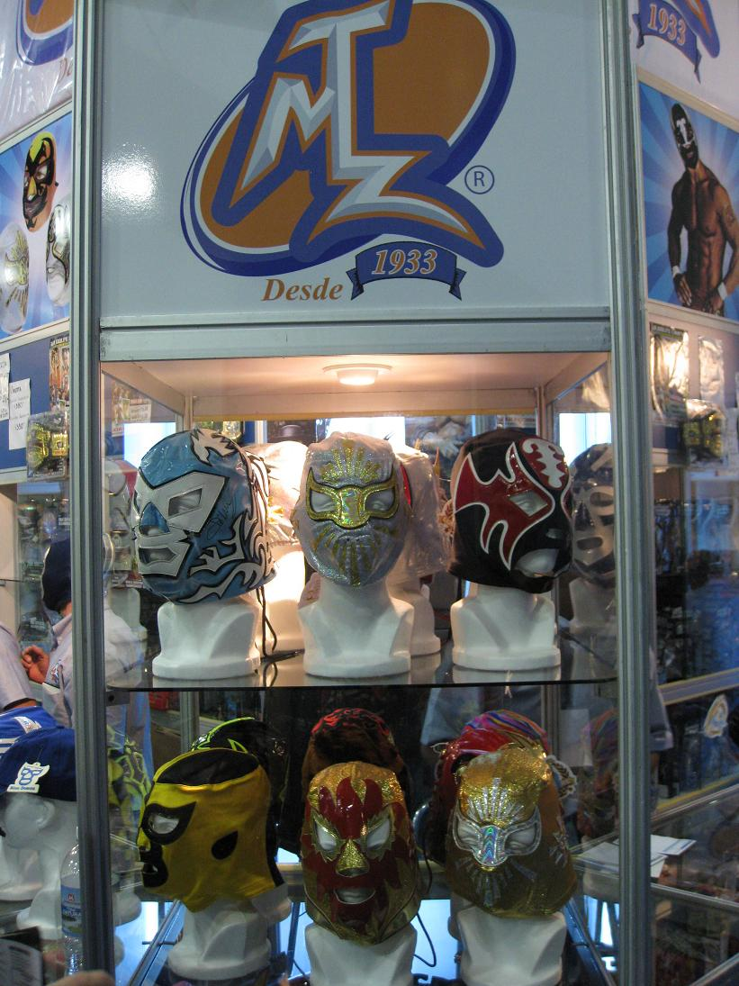 MTZ is *the* premier maker of mascaras (lucha masks) here in Mexico City. www.mtzwear.com