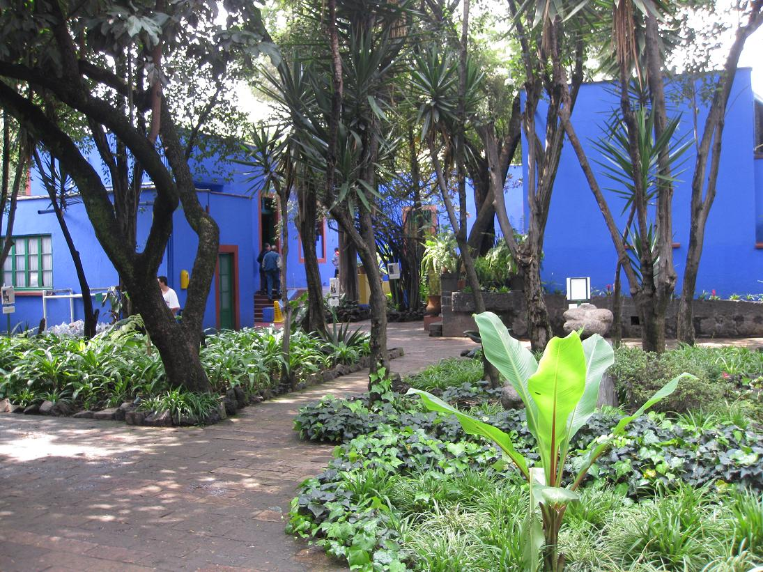 "We first stopped at the Frida Kahlo museum, aka her ""Casa Azul"" near the heart of Coyoacan. Despite not being a Frida history expert, I must say the museum was quite interesting & really well done... Seeing her house & gardens and getting a few snippets of her life w/Diego Rivera was time well spent."