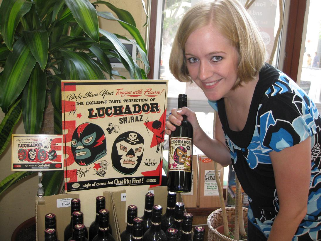 Luchador Shiraz: I recall it costing just enough to prevent you from buying it as a joke gift.